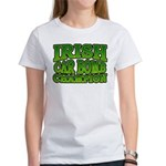 Irish Car Bomb Champion Shamrock Women's T-Shirt