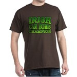 Irish Car Bomb Champion Shamrock Dark T-Shirt