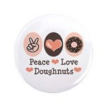 Peace Love Doughnuts Donut 3.5