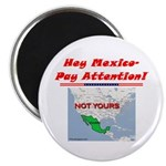 """Listen Up Mexico!"" 2.25"" Magnet (1"