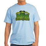 Kiss Me I'm Single Shamrock Light T-Shirt