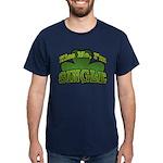 Kiss Me I'm Single Shamrock Dark T-Shirt