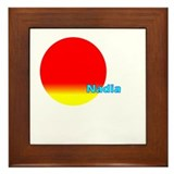 Nadia Framed Tile
