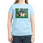 Bridge / Two Collies Women's Light T-Shirt