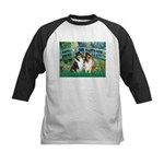 Bridge / Two Collies Kids Baseball Jersey