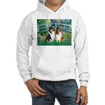 Bridge / Two Collies Hooded Sweatshirt