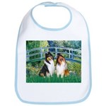 Bridge / Two Collies Bib