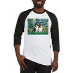 Bridge / Two Collies Baseball Jersey