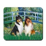 Bridge / Two Collies Mousepad