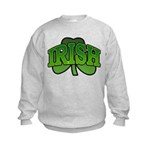 Irish Shamrock Shamrock Kids Sweatshirt