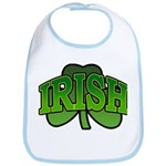 Irish Shamrock Shamrock Bib