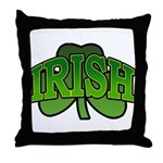 Irish Shamrock Shamrock Throw Pillow