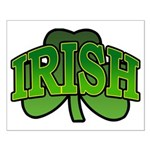 Irish Shamrock Shamrock Small Poster