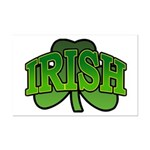 Irish Shamrock Shamrock Mini Poster Print
