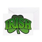 Irish Shamrock Shamrock Greeting Cards (Pk of 10)