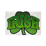 Irish Shamrock Shamrock Rectangle Magnet (10 pack)