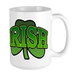 Irish Shamrock Shamrock Large Mug