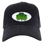 Irish Shamrock Shamrock Black Cap