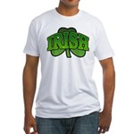 Irish Shamrock Shamrock Fitted T-Shirt