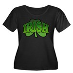 Irish Shamrock Shamrock Women's Plus Size Scoop Ne