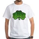 Irish Shamrock Shamrock White T-Shirt