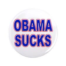 "Obama Sucks 3.5"" Button"