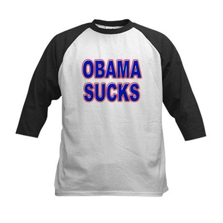 Obama Sucks Kids Baseball Jersey