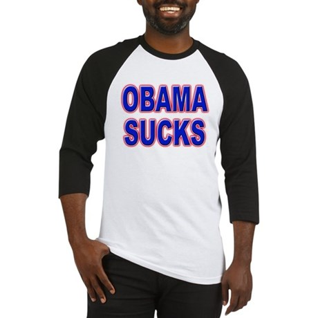 Obama Sucks Baseball Jersey