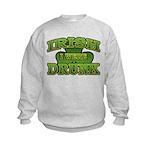 Irish I Were Drunk Shamrock Kids Sweatshirt