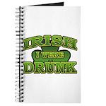 Irish I Were Drunk Shamrock Journal