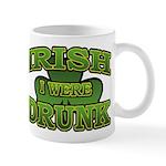 Irish I Were Drunk Shamrock Mug