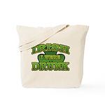 Irish I Were Drunk Shamrock Tote Bag