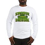 Irish I Were Drunk Shamrock Long Sleeve T-Shirt
