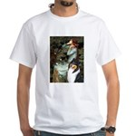 Ophelia / Collie (tri) White T-Shirt