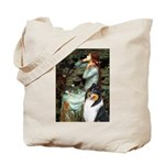 Ophelia / Collie (tri) Tote Bag