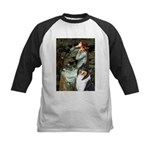 Ophelia / Collie (tri) Kids Baseball Jersey