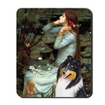 Ophelia / Collie (tri) Mousepad