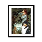 Ophelia / Collie (tri) Framed Panel Print