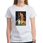Midsummer's Eve / Collie (tri) Women's T-Shirt