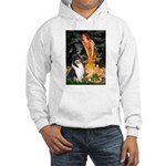 Midsummer's Eve / Collie (tri) Hooded Sweatshirt