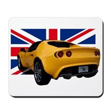 Yellow Elise UK Mousepad