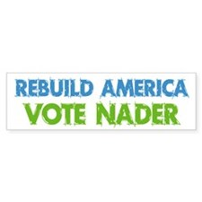 Vote Nader Bumper Bumper Sticker