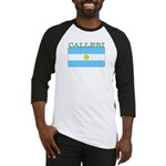 Calleri Argentina Flag Baseball Jersey