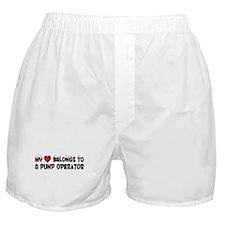 Belongs To A Pump Operator Boxer Shorts