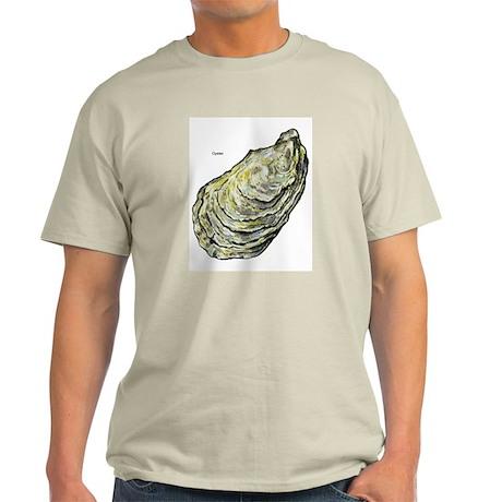 Oyster Ash Grey T-Shirt