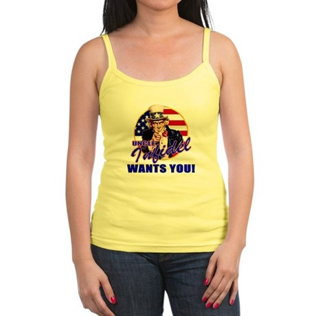Uncle Infidel Wants You Jr. Spaghetti Tank