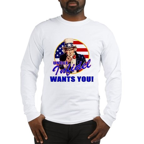 Uncle Infidel Wants You Long Sleeve T-Shirt