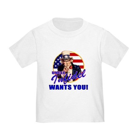 Uncle Infidel Wants You Toddler T-Shirt