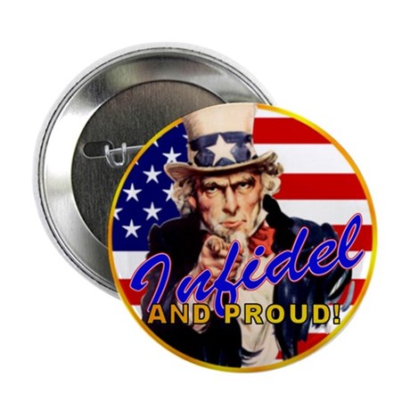 "Uncle Sam 2.25"" Button (10 pack)"