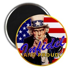 "Uncle Sam 2.25"" Magnet (100 pack)"